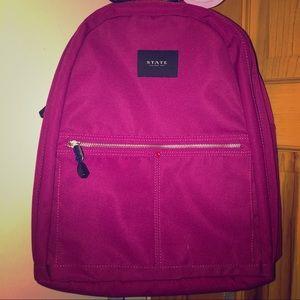 Fuschia STATE Kent Backpack, NWOT